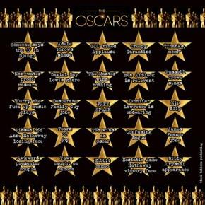 Oscars Bingo Drinking Game!