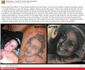 World's Worst Portrait Tattoos FIXED!