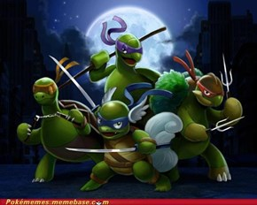 teenage mutant ninja poketurtles