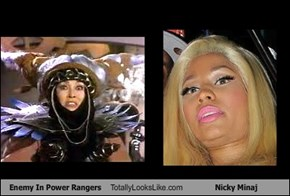 Enemy In Power Rangers Totally Looks Like Nicky Minaj