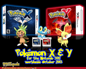 More Possible pokemon X and Y artwork.