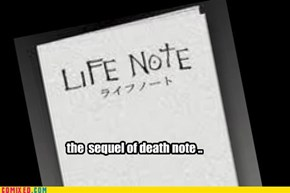 it wasnt death note ?