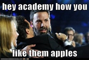 hey academy how you   like them apples