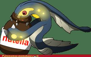 Eelektross Eating Nutella