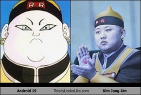 Android 19 Totally Looks Like Kim Jong-Um