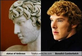 statue of Antinous Totally Looks Like Benedict Cumberbatch