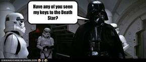 Darth Vader:  A Senior Moment.