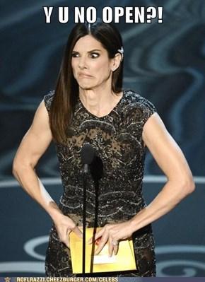 Sandra Bullock Fail