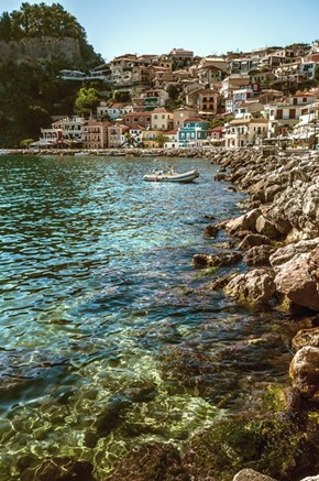 On the Shore of Parga Old Town