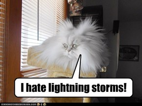 I hate lightning storms!