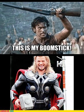 This is my BOOMSTICK! LOL!