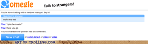 how to make someone wet on omegle