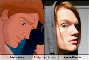 Prince Adam Totally Looks Like Aaron Gillespie