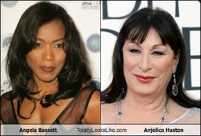 Angela Bassett Totally Looks Like Anjelica Huston