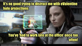 ...and I happen to know whose office you've been working at!