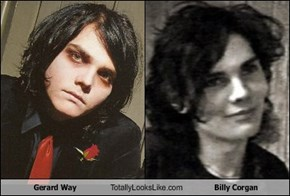 Gerard Way Totally Looks Like Billy Corgan