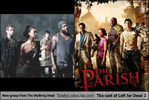 New group from The Walking Dead Totally Looks Like The cast of Left for Dead 2