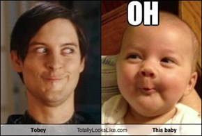 Tobey Totally Looks Like This baby