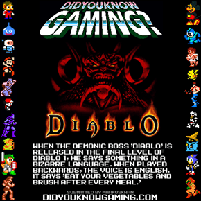 Good advice from diablo
