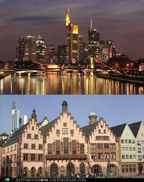 New and Old in One City: Frankfurt am Main, Germany