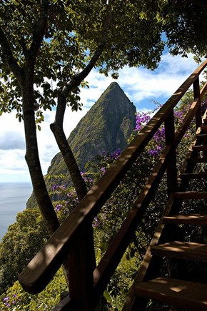 Petit Piton in St. Lucia Island