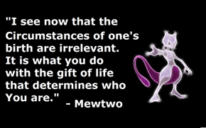 Mewtwo is deep!