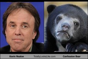 Kevin Nealon Totally Looks Like Confession Bear