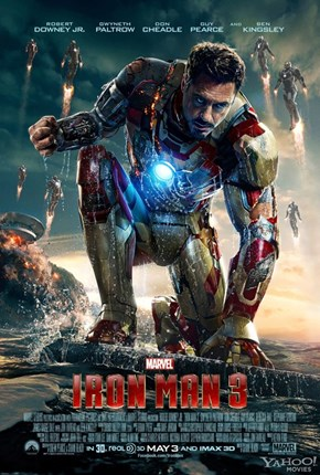 "Yet Another ""Iron Man 3"" Poster. You'll Never Guess Who This One Features."
