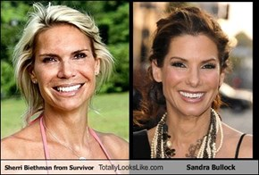 Sherri Biethman from Survivor Totally Looks Like Sandra Bullock