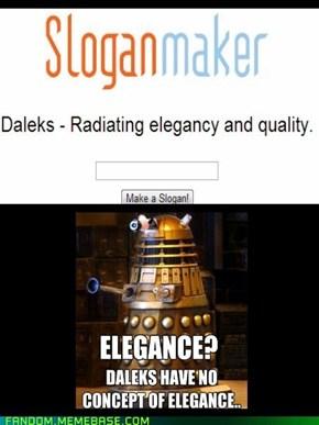 Elegant Daleks