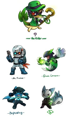 This is What Would Happen if Pokemon Were in the DC Universe