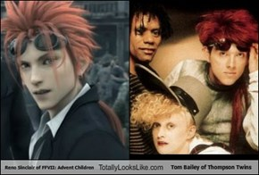 Reno Sinclair of FFVII: Advent Children Totally Looks Like Tom Bailey of Thompson Twins