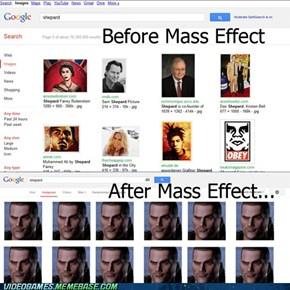 Just Shepard being Shepard...