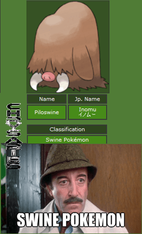 Swine Pokemon!