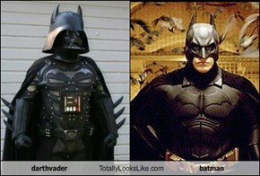 darthvader Totally Looks Like batman