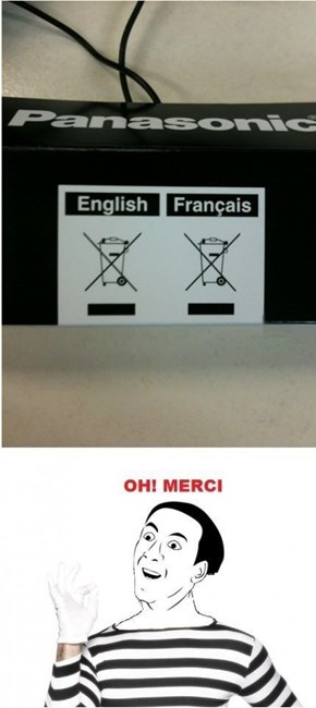 The X's Are More Indignant in French