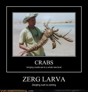 ZERG LARVA