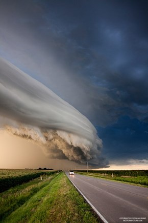 Strange Cloud Formations in Nebraska