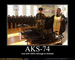 Meanwhile in Russia / AKS-74
