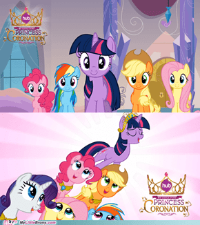 Screenshots from Princess Coronation.