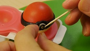 Who is Hidden Inside This Edible Pokeball?