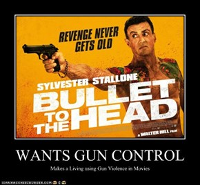 WANTS GUN CONTROL