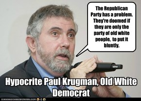 Paul Krugman, Old White Democrat