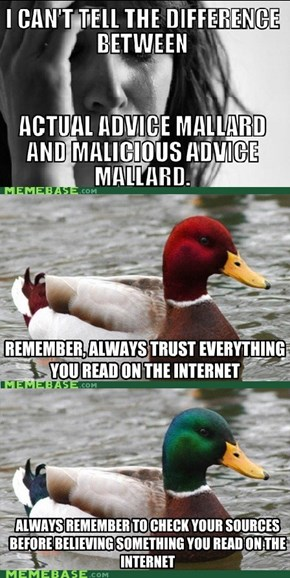 Actually Malicious Advice