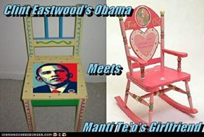 Clint Eastwood's Obama                                   Meets                                  Manti Te'o's Girlfriend