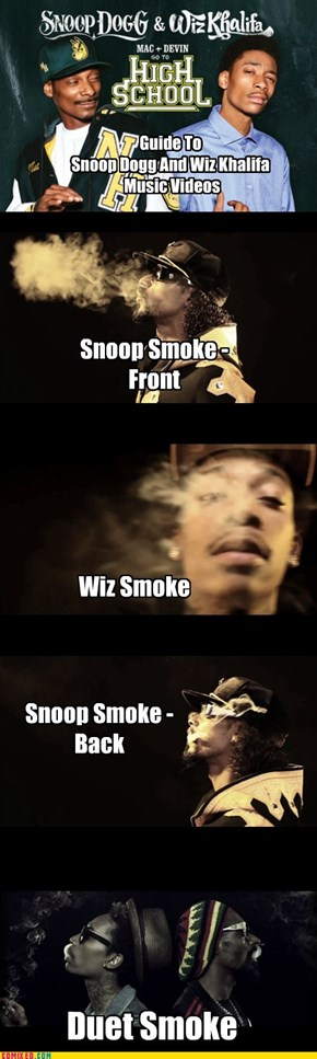 Guide To Snoop Dogg And Wiz Khalifa Music Videos
