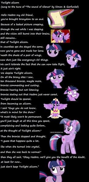 Twilight alicorn lyrics