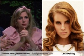 Blanche Baker (sixteen candles) Totally Looks Like Lana Del Rey