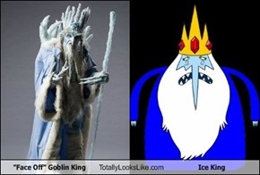 """Face Off"" Goblin King Totally Looks Like Ice King"