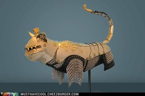 Medieval Armor for your Cat